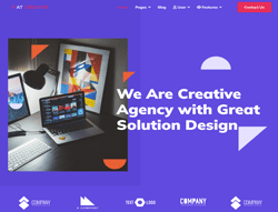 Image Design Joomla Template - AT Creative