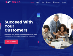 Business Joomla Template - AT Brand