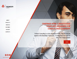 HTML Bootstrap Template - 001024