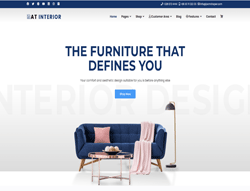 Furniture Joomla Template - AT Interior