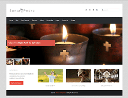 Church Joomla Template - Santa Pedro PT
