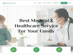 Joomla! 3 Template - AT Medicine