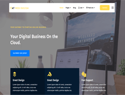 Joomla! 3 Template - AT Web Design