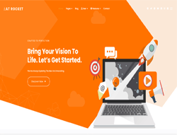 Creative Joomla Template - AT Rocket
