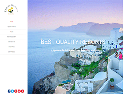 Travel Joomla Template - Resort Diner PT