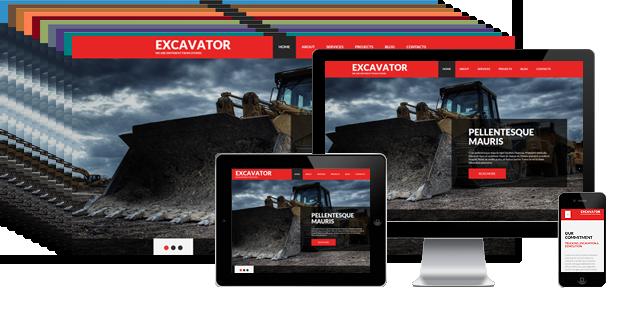 002083 - Mining Joomla Template