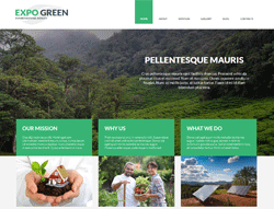 Environmental Joomla Template - 002085