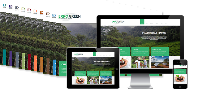 002085 - Environmental Joomla Template