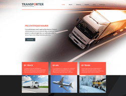 Transportation Joomla Template - 002087