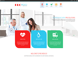 Medical Joomla Template - 002086