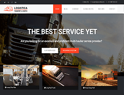 Joomla Transportation Template - Logistica PT