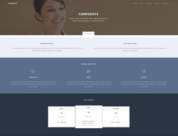 HTML5 Template - Corporate TM