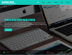 Web Developer Joomla Template - 002088