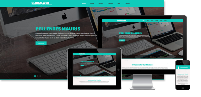 002088 - Web Developer Joomla Template