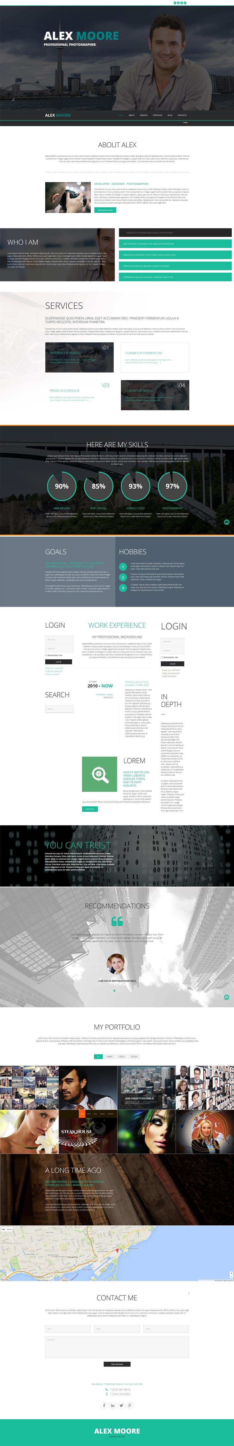 Web company Joomla! template