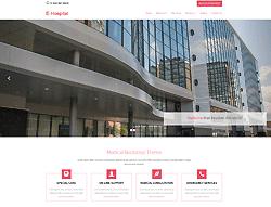 Bootstrap Theme - E-Hospital