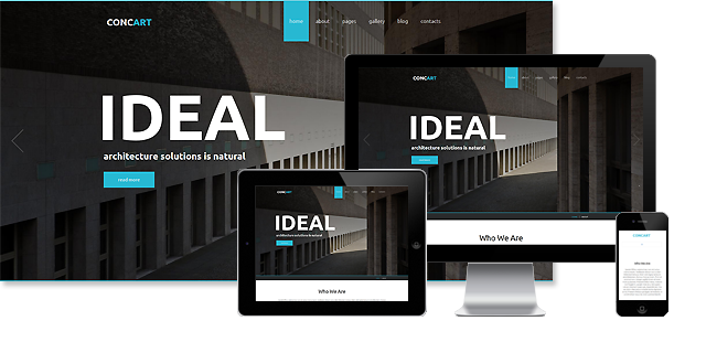 002090 - Architecture Joomla Template