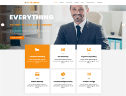 Business Joomla Template - LT Strategy