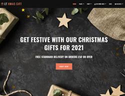 eCommerce Joomla Template - LT xMas Gift