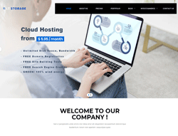 Hosting Joomla Template - LT Storage