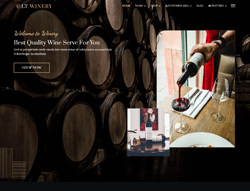 Winery Joomla Template - LT Winery