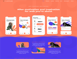 Mobile Joomla Template - LT Apptune