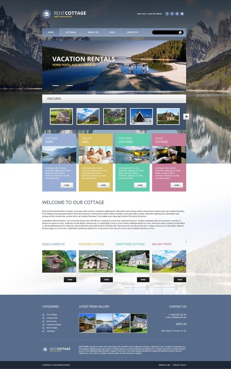 Real Estate Joomla! template
