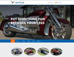 Bootstrap Theme - MotoClub B