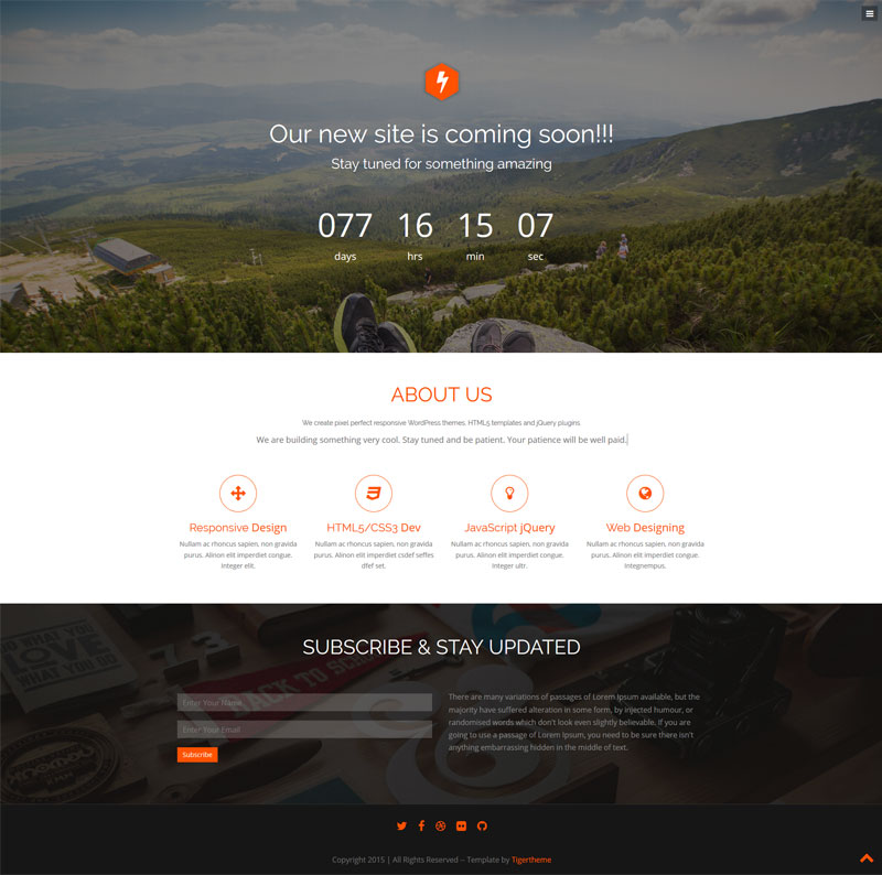 onepagee bootstrap template