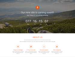 One Page Bootstrap Theme - Dhrubo TA