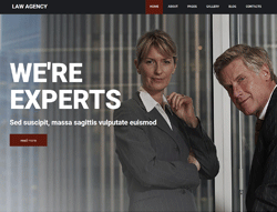Law Agency Joomla Template - 002092