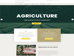 WordPress Theme - LT Agriculture