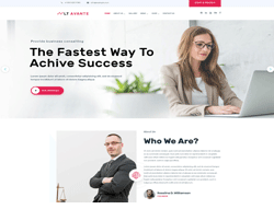 Business WordPress Theme - LT Avante