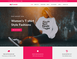Shop WordPress Theme - LT Shop