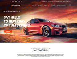Car WordPress Theme - LT Salon Car
