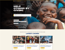 Nonprofit WordPress Theme - LT Charity