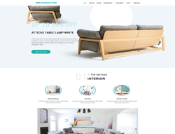 WordPress eCommerce Theme - LT Interior Store