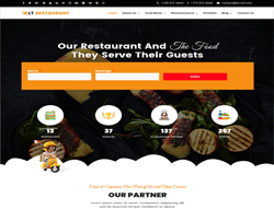 Top WordPress Theme - LT Restaurant
