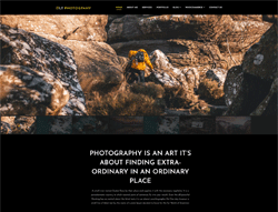 Photography WordPress Theme - LT Photography