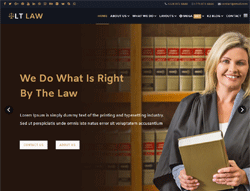 WordPress Theme - LT Law