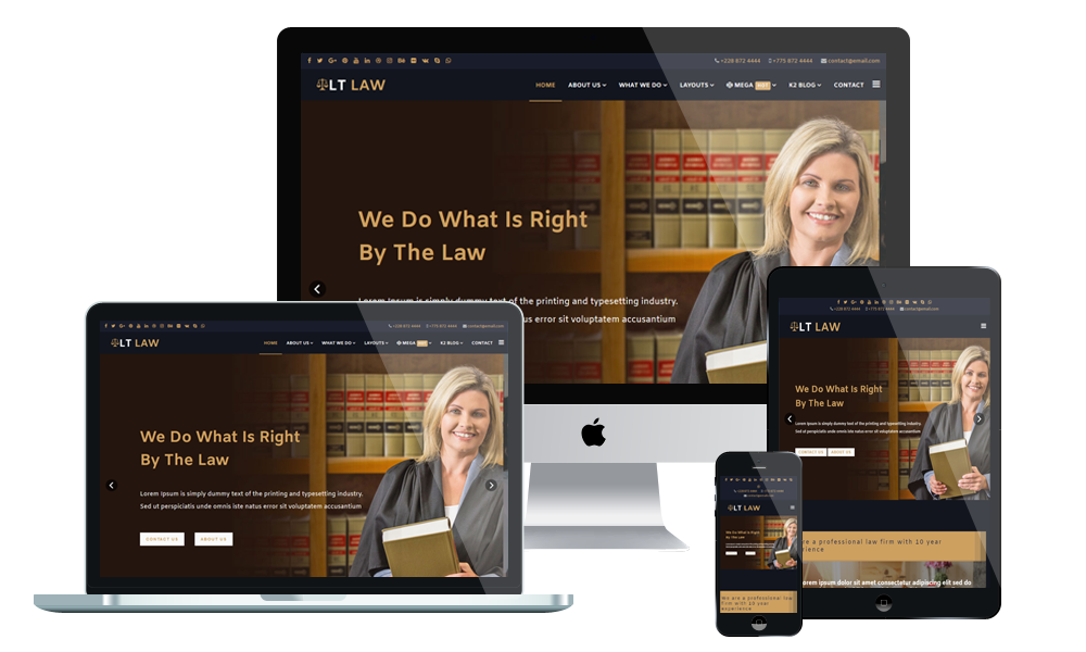 LT Law - WordPress Theme