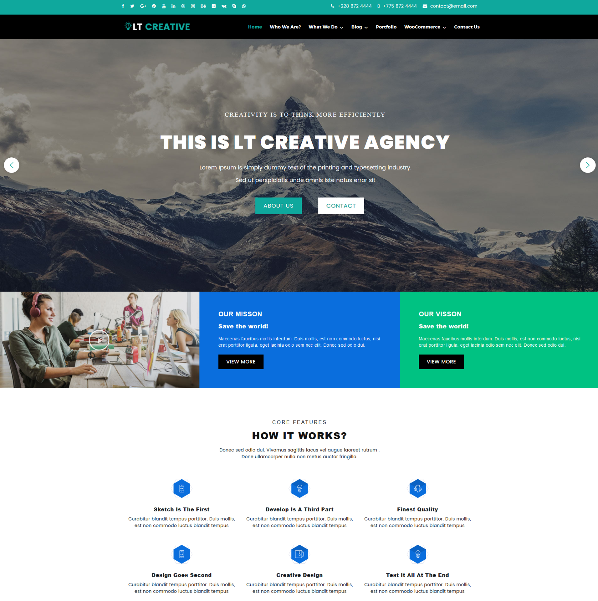 Design WordPress Theme