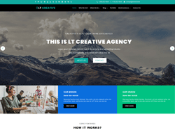 Design WordPress Theme - LT Creative