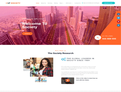 WordPress Theme - LT Social
