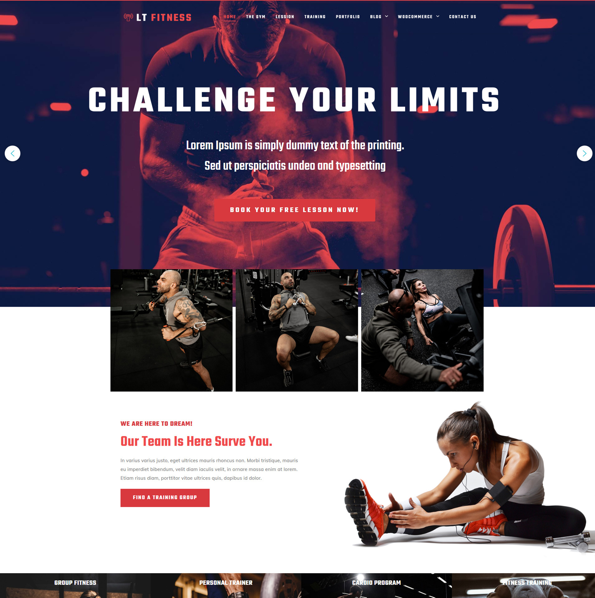 Sport WordPress Theme
