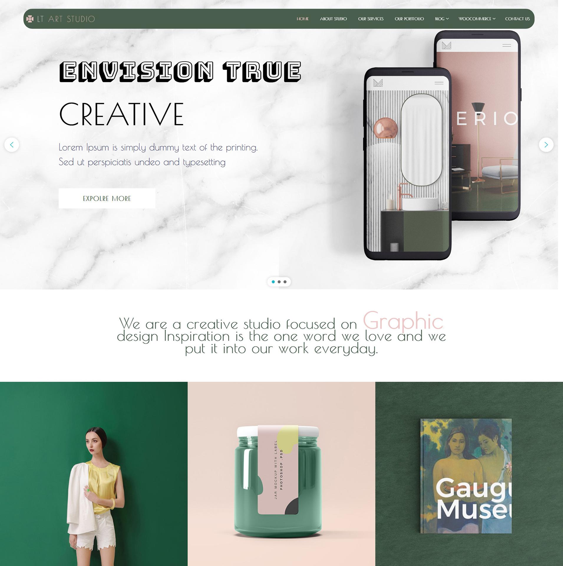 Creative WordPress Theme