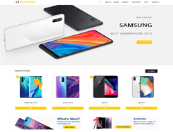 WordPress eCommerce Theme - LT Tech Shop