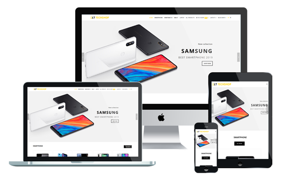 LT Tech Shop - WordPress eCommerce Theme