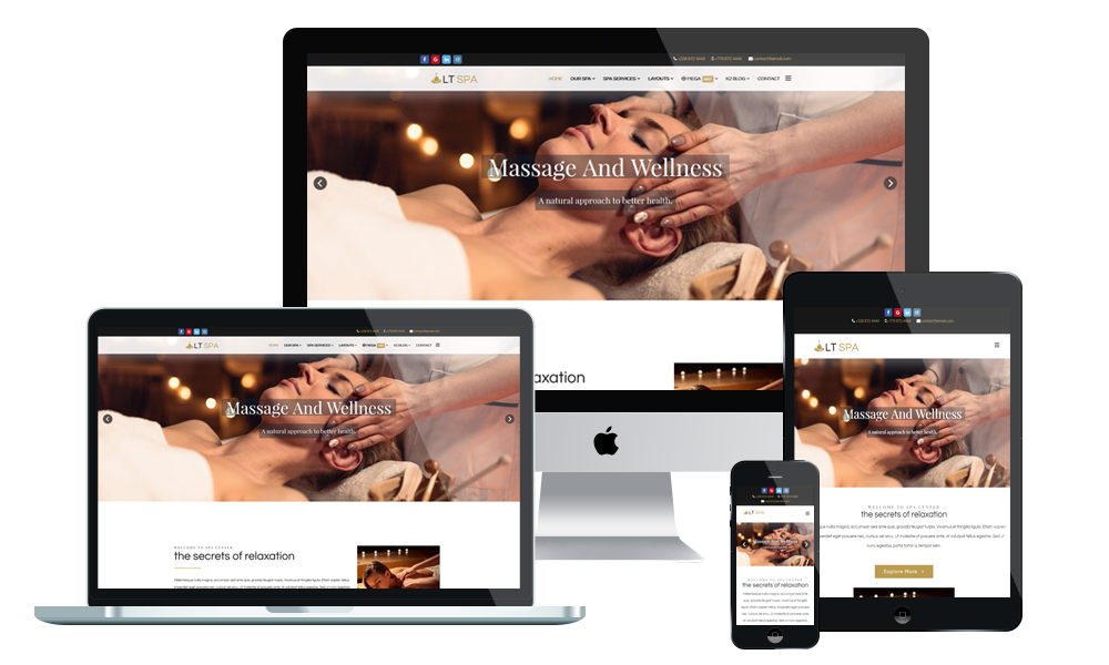 LT Spa - Spa WordPress Theme