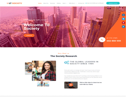 Society WordPress Theme - LT Society